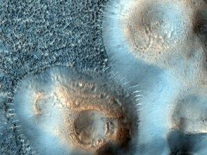 Schlammvulkan Mars