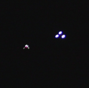 Ufo über Chongqing